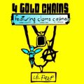 Lil Peep - 4 Gold Chains Lyrics (ft. Clams Casino)